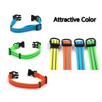 China Pet Safety Waterproof Reflective Dog Collars PVC Eco Friendly Material wholesale