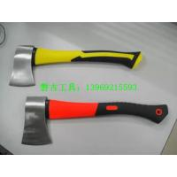China A601 America type felling axes, forestry hatchet, Axe with fiberglass  handle cutting axe wood splitting wholesale