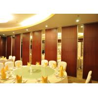China Acoustic Movable Partition Walls , VIP Wooden Partition Door wholesale