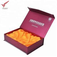 China Eco Friendly Wine Packing Boxes Corrugated Wine Boxes With Silk Tray Inside wholesale