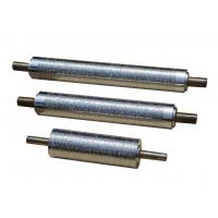 Heating Steel Embossing Rollers / Metal Embossing Roller Mechanical Processing
