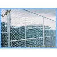 """Quality 11.5 Ga (0.11"""") Us Standard Galvanized black chain link fence for sale"""