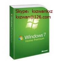 China windows 7 professional/ultimate/home prem OA activation Product Key Sticker X16 blue FPP key wholesale