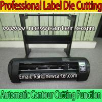 China 720 Desktop Cutting Plotter With ARMS Automatic Contour Cutting Plotter Vinyl Sign Cutters wholesale