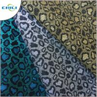 Quality Solid Glitter Leather Fabric Wallpaper Beautiful Sheets Well Crafting for sale
