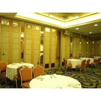 China Commercial Furniture Folding Partition Walls for Restaurant With Aluminum Frame wholesale