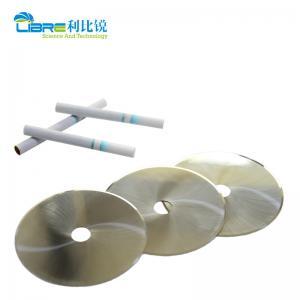 China 100x15x0.3mm Round Cutting Blade For Hauni Molins Tobacco Machine wholesale