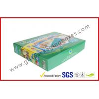China Handmade E Flute Corrugated Paper Box , Children Toy Boxes With Square Shape wholesale