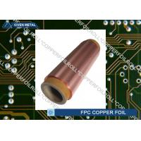 Double Shiny Rolling Red Copper Foil For FPC , Roll Size , Maximum Width 650