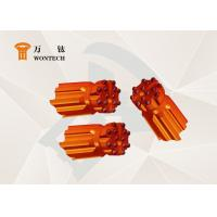 China Rock Blasting And Fine Alloy Steel Compatible For Different Rock Thread Button Bit wholesale