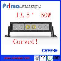 """Buy cheap 13.5"""" 60W Curved Cree Led Light bar-Single Row Led Light Bar from wholesalers"""