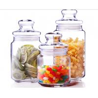 China 500ml Glass Spicy Jar with Lid / Glass Storage Jars / Stock Glass Jars wholesale