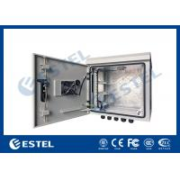 Buy cheap 9U Outdoor IP55 Pole Mounted Cabinet For Communication Base Station from wholesalers