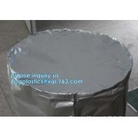 China Chemical Resistant Water Proof Heavy Duty Round Bottom Cylinder Drum Barrel Liners, LDPE drum liner, Drum Liner,Round He wholesale