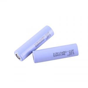 China Big Capacity 3.6 V 2200mAh Samsung 18650 Lithium Battery wholesale