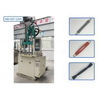 China 4 Cavities Mold Vertical Injection Molding Machine For Luggage Handle Replacement Kit Parts wholesale