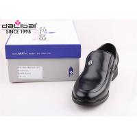 China Cow leather Italy fashion non lace up formal Men Perforated Leather dress Shoes wholesale