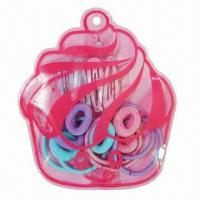 Buy cheap Hair Clips/Pony O/Hair Elastic in PET Bag Set from wholesalers