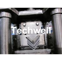 China Steel Angle / L Profile Cold Roll Forming Machine With Manual Decoiler for G.I. Steel Coil on sale