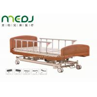 China Wooden Head Clinic / Hospital Patient Bed MJSD04-03 Electric Control wholesale