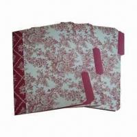China Paper File Folders, Available in A4 Size wholesale