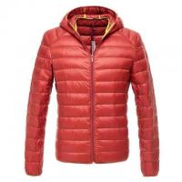 China Cheap Men stock clothing,down feather zipper coats & Brand winter down jacket with hoodie wholesale