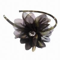 China New Design Military Headband with Floral Decor, Excellent Quality  wholesale