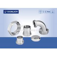 China 3A Union Series Tri Clover Clamp / Stainless Steel Clamps CNC Surface wholesale