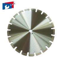 Buy cheap Durable 10 Inch Circular Saw Blade 2 Mm Segment Thickness For Asphalt from wholesalers