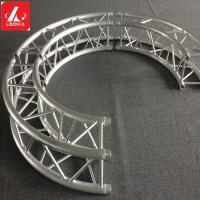 China Screw Aluminum Square / circular Truss For Stage Performance / Wedding Party wholesale