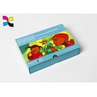 China Colorful Photo Greeting Card Printing Services With Logo Corrugated Board Paper Type on sale