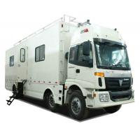 China FOTON  6x2 Outdoor Mobile Camping Truck With Living Room and Kitchen wholesale