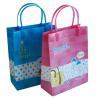 China wholesale cartoon handle pp plastic shopping bag, plastic bag with handle, plastic gift bag wholesale