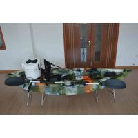 China Plastic Lldpe Sit On Top Kayak , All Around Ride On Top Kayak Manoeuvrable Unique Hull Desig on sale