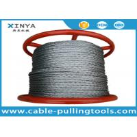 China Anti Twisting Galvanized Braided Wire Rope Non Rotating 1000 Meter Per Reel wholesale