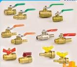 China 1/4 & 3/8 & 1/2 FF type water, air,oil, and gas brass ball valve cheap small mini ball valve wholesale