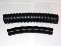 Quality Black Plastic Corrugated Pipe with High Flexibility PA6 Material for sale
