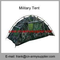 China Wholesale Cheap China Military Camouflage Outdoor Camping Travel Single Army Tent wholesale