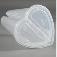 China PP Material Custom Split Plastic Cups , Plastic Drinking Cups Eco Friendly on sale