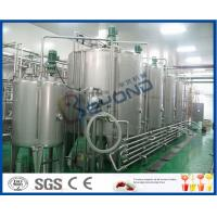 Quality Soft Drink Beverage Industry Carbonated Water Plants , Full Automatic Energy Drink Production Line for sale