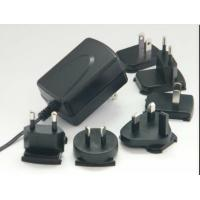 China Interchangeable Plug Wall Mount Power Adapter With 15W / 18W / 24W AC wholesale
