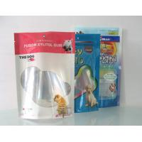 China Food Grade Flexible Packaging Clear Window Pet Food Bags For Baby Dog Food wholesale