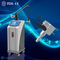 China 40W 10600nm Glass pipe Skin resurfacing Fractional CO2 Laser machine acne loss on sale