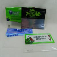 China Glossy Finish Fishing Lure Pouches Foil Ziplock Bags Environmental Protection wholesale