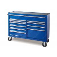 China 52 Inch Blue Metal Steel Locking Tool Cabinet , Roller Cabinet Tool Box wholesale