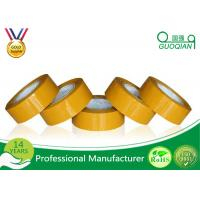 China Hot Melt Personalised OPP Packing Tape 48MM X 50M 43mic High Tensile Strength wholesale