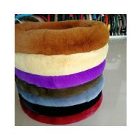 China Soft Touching Fluffy Car Steering Wheel Covers For Winter And Autumn on sale