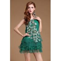 Wholesale 2014 New lace designer bigger size fashion sleeveless cool young lady's dresses