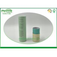 China 100% Recycled Cylinder Box Packaging , Handmade Paper Tube Packaging on sale