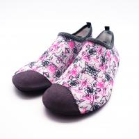 Quality Lycra Ultra Light Non Slip Water Shoes With Bootstrap Causal Printing for sale